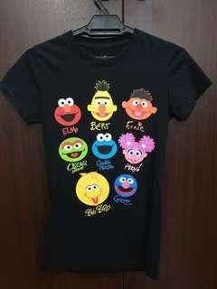 "Official Universal Studio Singapore (USS) ""Sesame Street"" T-Shirt"