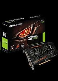 Gtx1050 gigabyte 2gb (ready stock)!!!!
