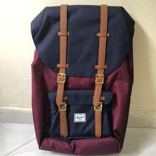 Herschel | Little America Backpack (Wine)