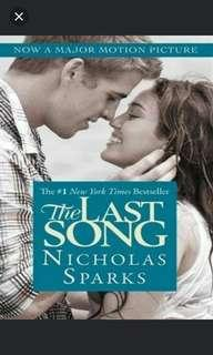 THE LAST SONG (NICHOLAS SPARKS)
