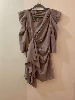 Mossman Beige Dress Brand New