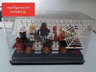 Lego CASE DISPLAY ONLY (maximum of 12 figures)