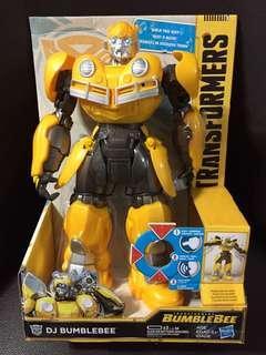 Transformers 2018 DJ Electronic Bumblebee Sing Back Voice Tech