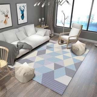 [大尺寸地毯]北歐風地毯 客廳地毯 臥室地毯 踏墊床邊地墊 不脫線 不脫毛 超防滑
