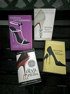 Lauren Weisberger Book Collection English version