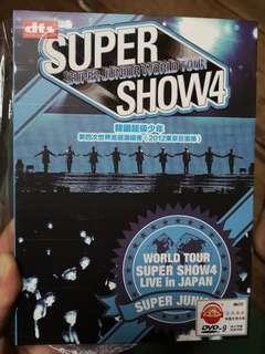 SUPER SHOW4 SUPER JUNIOR WORLD TOUR 韩国超级少年 第四次世界巡回演唱会 (2012东京巨蛋场)