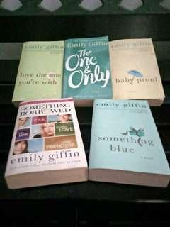 Emily Giffin Book Collection English version