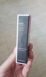 The face shop matt touch lipstick OR01