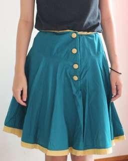 Button Skirt   Rok Kancing