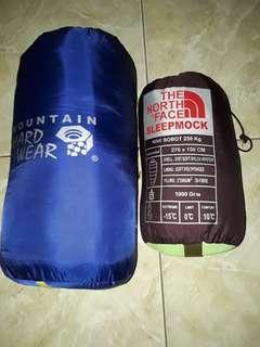 Paket Sleeping Bag 3 Layer + Sleepmock