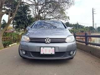 ❧佛系女孩 妍 ❧ 2009/10 VW GOLF PLUS 穩重灰 車頂行李架.後座分離島覆.吸頂式置物盒