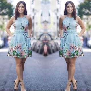 US  Casual Printed Dress