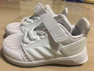 🚚 Adidas White Shoes for Infant/Toddler