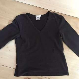 Old Navy dark brown sweater