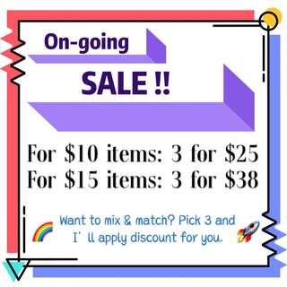 🌸🌿 ON-GOING SALE 🌿🌸