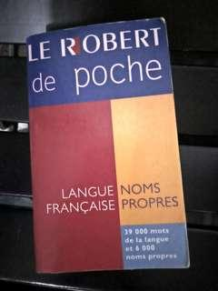 Le Robert French English Dictionary