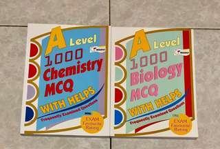 A Level 1000 Biology MCQ