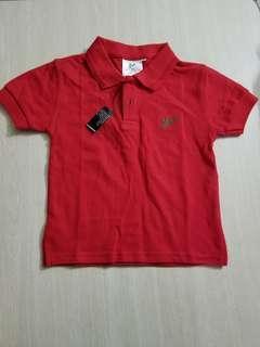 100%全新小童Shirt 6 size