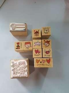 Micia Rubber Stamp