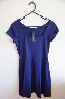 Navy Cotton On Dress (Size 10)