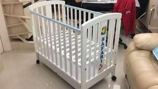 C-Max 嬰兒BB床 Baby Bed Crib (連5個spare轆 with 5 spare wheels)