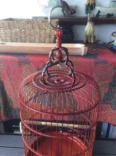 Puteh or Finch cage