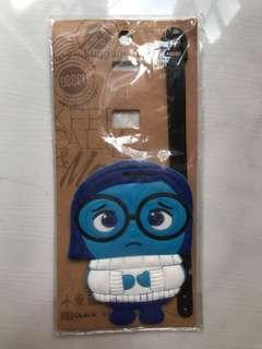 🚚 Inside Out Sadness Luggage Tag