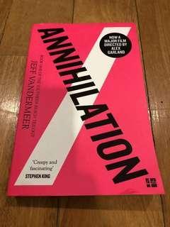 ANNIHILATION (JEFF VANDERMEER) (BOOK 1)
