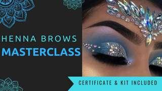 ✨✨BROW HENNA MASTERCLASS & CERTIFICATION!✨✨INCLUDES FULL KIT FOR 80 CLIENTS!!!✨✨