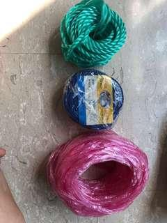 Rope thread raffle string 绳子
