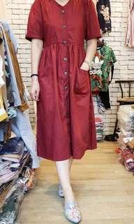 Reprice!!! Burgundy dress