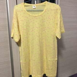 🚚 Yellow Tshirt (Size XXL)