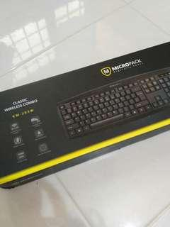 Micropack Wireless Keyboard & Mouse Set