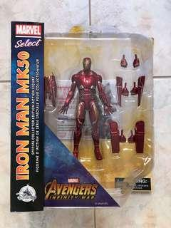 Marvel Select Disney Store Exclusive Ironman MK50