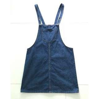 (Preloved) Denim Dungaree
