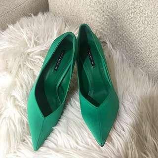 Zara Heels ( green)