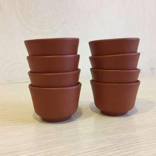 🚚 窯燒茶杯老茶杯褐色窯燒陶瓷