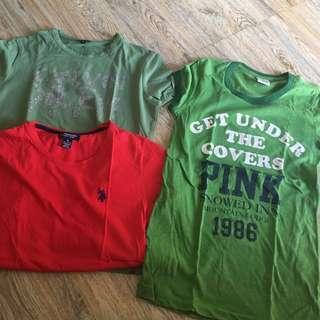 bundled shirts