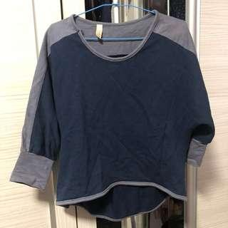 🚚 Blue Sweater (Free size)
