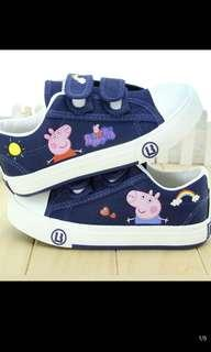 🚚 PO kids Peppa pig shoe brand new size 15.5-23cm