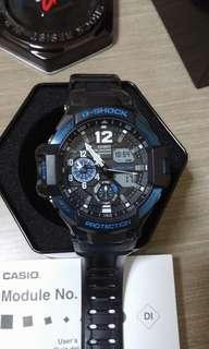 Authentic Casio G-Shock Aviator GA-1100-2B