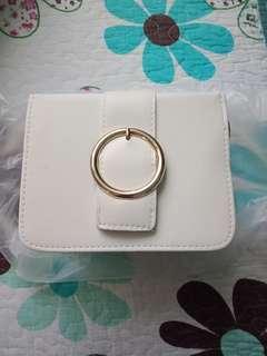 Sling Bag ( White)