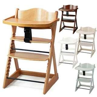 日本Katoji high chair 成長椅 BB餐椅