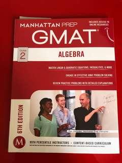 GMAT ALGEBRA MANHATTAN PREP BOOK