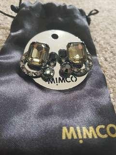 Brand new mimco stud earrings