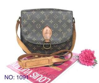 Authentic Louis Vuitton monogram Saint Cloud gm bag