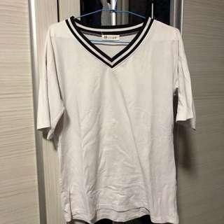 🚚 White Tshirt (Free size)