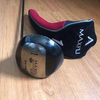 Stick Golf Driver 1 Merk Maxfli 10.5 Beta Ti 450cc