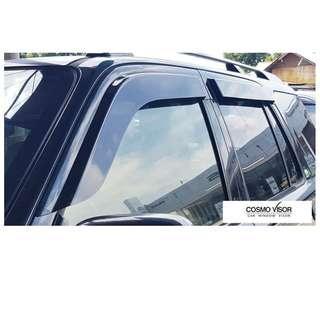 Honda CRV 1996-2001 Big Size Cosmo Door Visor Car Vent Visor Deflectors High quality