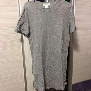 🚚 Forever 21 Grey Long Dress (Size S)
